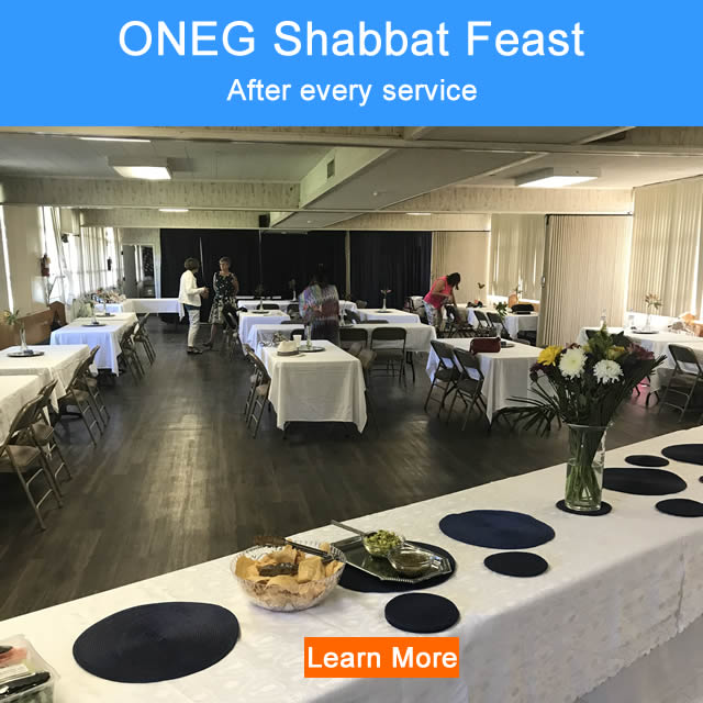 Oneg Family Messianic Food Kosher Fellowship